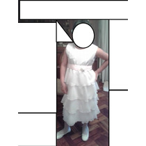 Vestido Fiesta Nena Hermoso Talle 12/14