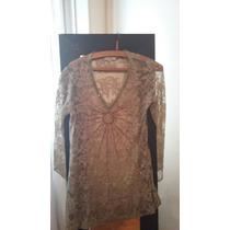 Vestido / Camisola Encaje Ropa Mujer