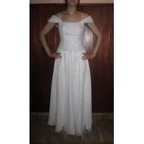 Vestido De Novia O 15 Años Blanco