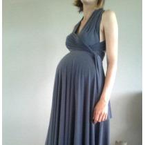 Vestido Embaraza Seda Fria, Modal, Jean, Palazzo, Enterito