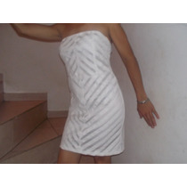 Vestido De Algodon Con Cuero Eco