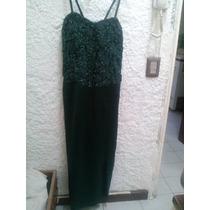 Hermoso Vestido De Fiesta Color Verde