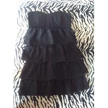 Vestido Negro Falabella (sin Uso)