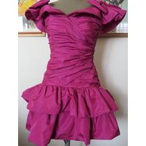 Vestido Fucsia Xs Oferton Fiestas -cumple 15 Casamientos