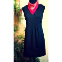 Vestidos Casual-modal Negro