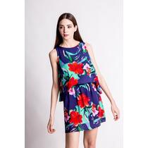 Vestido Amapola Estampado Flores Estancias Chiripa