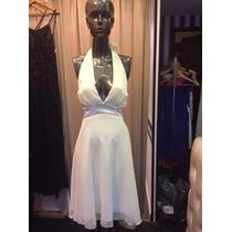 H O T S A L E !! Vestido Corto Gasa Escote Marilyn