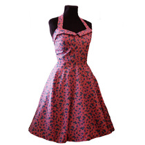 Vestido Vintage Pin Up Tatoo Rockabilly Estilo 50s