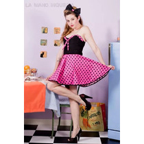 Vestidos Pin Up Falda Plato O Tubo