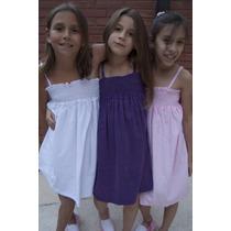 Vestido De Towell De Nena En Varios Colores Y Talles.