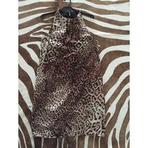 Vestido Animal Print Importado Clásico Zara España