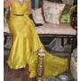 Vestido De Fiesta Jorge Ibañez Amarillo Talle S Divino