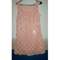 Precioso Vestido Color Salmon ( Fashion Outlet)