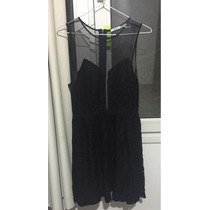 Vestido Negro Urban Outfitters Talle M