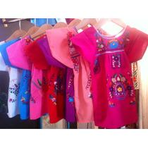 Vestidos De Niña Mexicanos, Para Nena