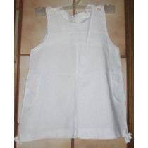 Vestido Blanco De Nena.