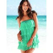 Vestido Strapless Victoria Secret ! Rosa Sexy Beach !!!!!!