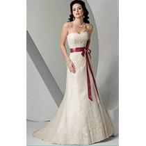 Hermoso Vestido De Novia - Listo Para Usar!