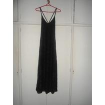 Vestido De Fiesta Negro De Encaje De Lycra