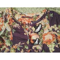 Rapasodia Tunica Vestido Camisa Hippie Chic Mujer