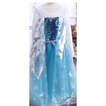 Vestido Elsa Importado Unicos Capa 1 2 Años ( T 2)