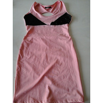 Vestido Lycra Con Transparencia Y Espalda Descubierta