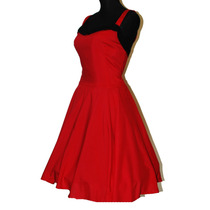 Vestido Vintage Estilo Pin Up 50s Rockabilly Tattoo Fiesta