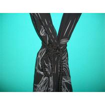 Vestido Negro Marca Materia De Tres Piezas Super Original