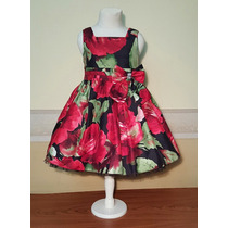 Vestido Importado Fiesta Nena, 4 Años, Sweet Heart Rose, Usa