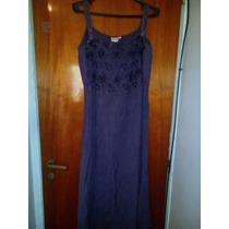 Vestido Hindu Violeta 100% Rayon