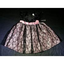 Vestido De Fiesta Nena 12 A 24 Meses- Importado. Nuevo!!!!