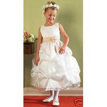 Espectacular Vestido De Fiesta Talles 2-3-4-5-6