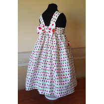 Vestido Importado Nena Verano, T 6, Cary San Francisco, Usa