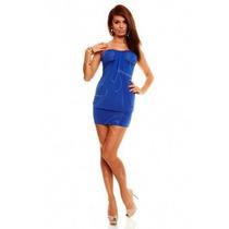 Natassja Mini Vestido Straples Con Taza Soft