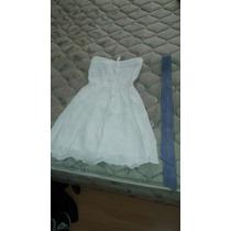 Vestido Ossira 1 Solo Uso Blanco Talle S