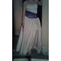 Vestido De 15 Desmontable Hecho A Medida Impecable