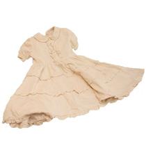 Vestido Para Nena De Corderoy Marca Cheeky T 6 Color Natural