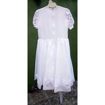 Vestido Tunica De Comunion O Cortejo Children Dior Impecable