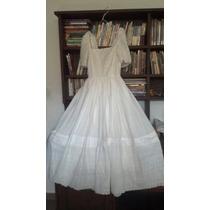 Vestido Largo Blanco De 15 O Novia - Usado