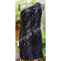 Vestido Lentejuelas Negras S-m Moda Int By Victoria