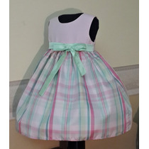 -35 Oferta Vestido Importado Nena Fiesta Bautismo T2 Usa