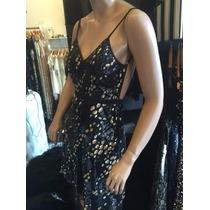 Hot Sale!! Vestido Corto Espalda Descubierta Total Fiesta