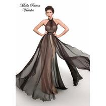 Vestido Impactante De Gala Bodas Fiesta Noche Moda Pasión