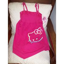 Hello Kitty Orig-solero-picos Adelante-atras-broderie Brillo