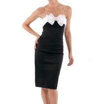 Vestido Las Oreiro Talle 2 - Todo Negro Leer Aclaración