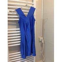 Vestido De Lycra Azul Francia Mini