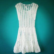 Tejidos Artesanales A Crochet: Vestido Calado - Playa!