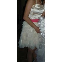 Bellisimo Vestido Corto De Noche, Gala Y Fiesta