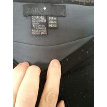 Vestido Straples De Zara C Brillos Impecable Estado