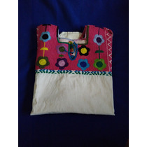 Camisa Bordada Mexicana Unico Talle
